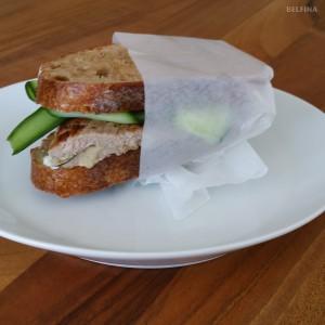 Kalbfleisch-Sandwich