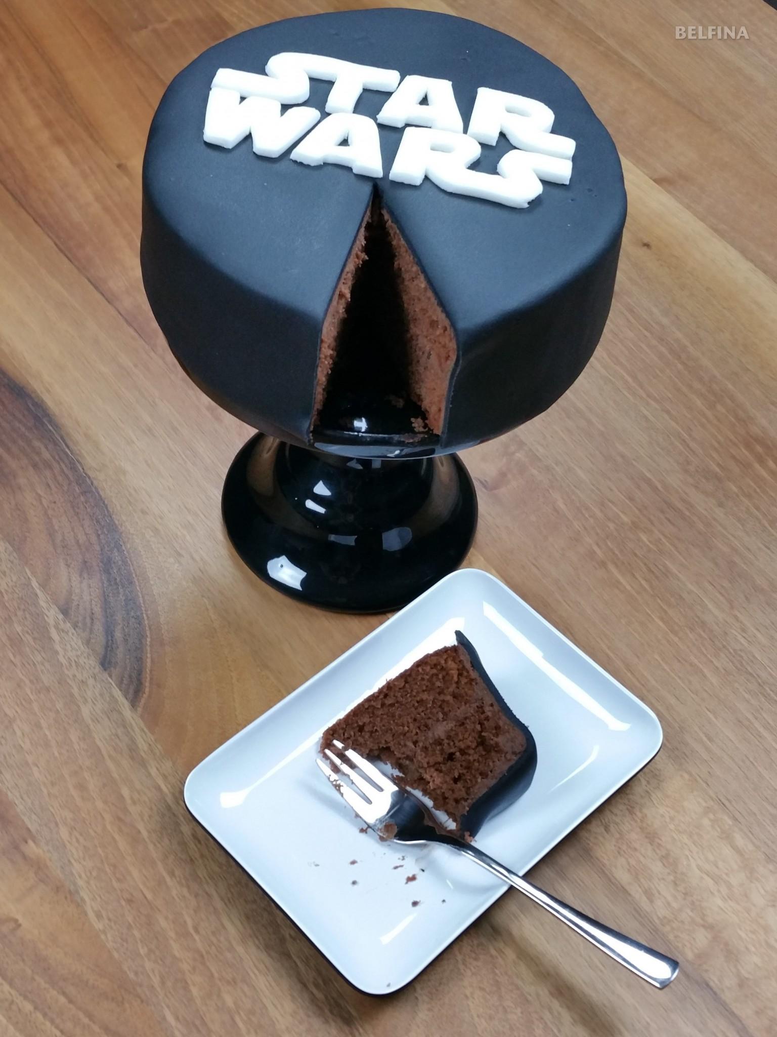 Starwars Kuchen Tinas Kochblog Von Belfina