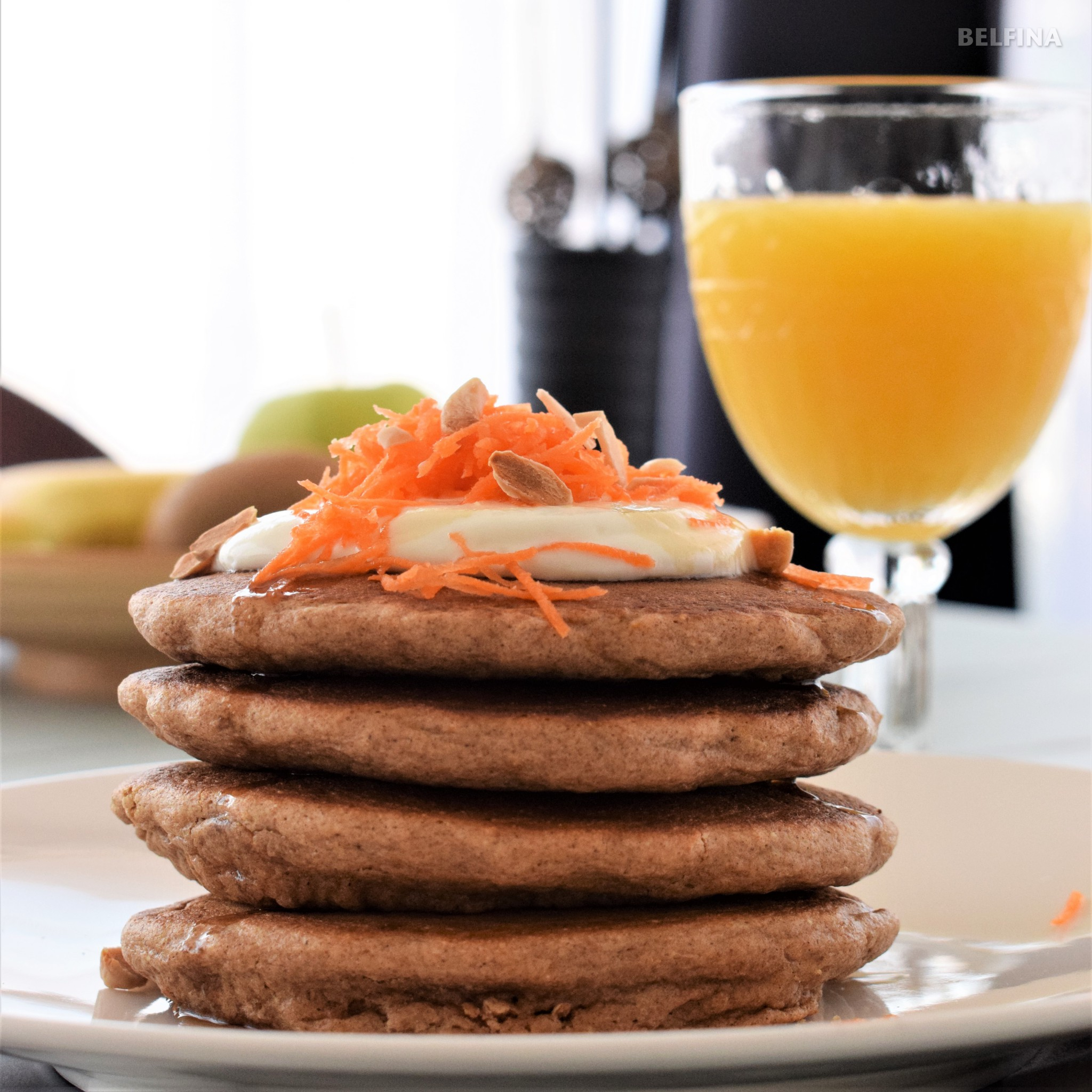 Rüebli Pancakes