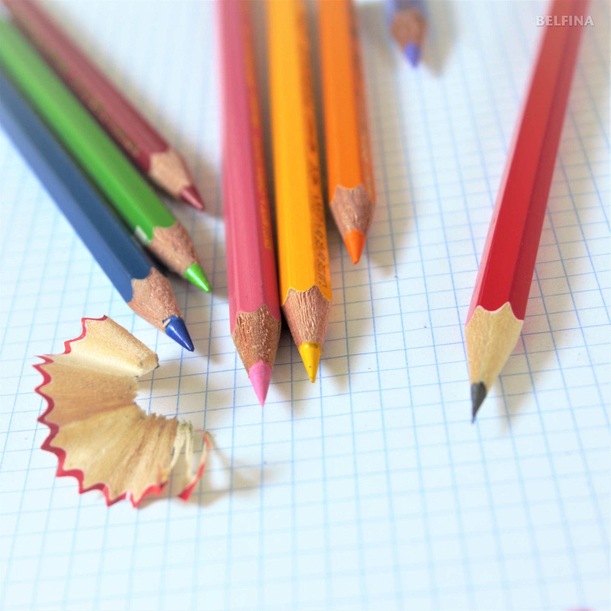 Habt ihr die Stifte schon gespitzt?