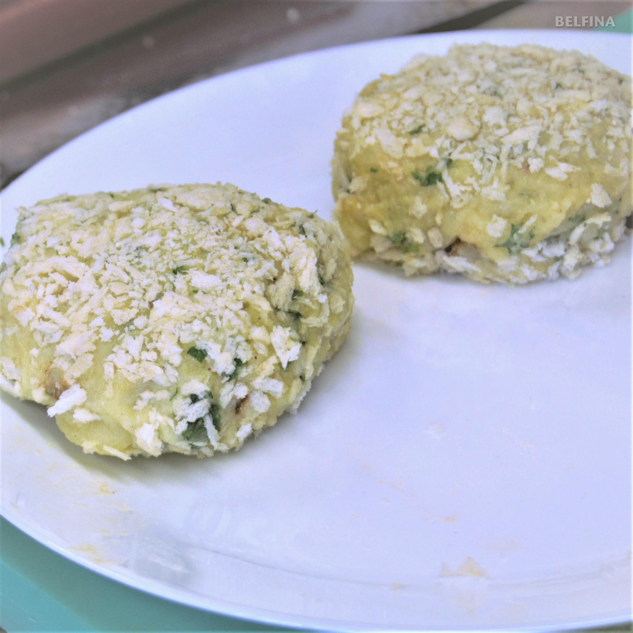 Kartoffelpuffer mit Reh-Bolognaise