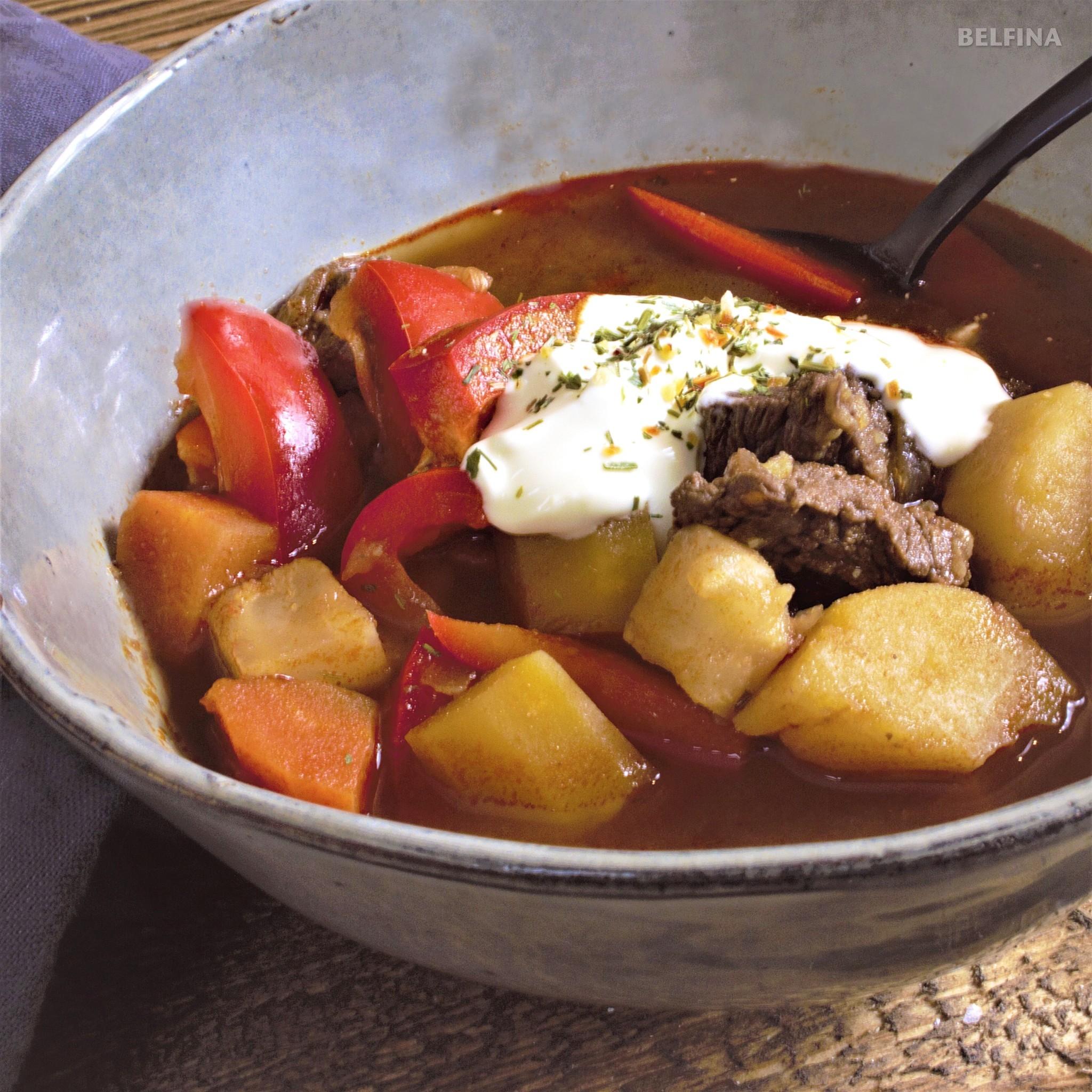 Gulasch Suppe und Frühlingsputz
